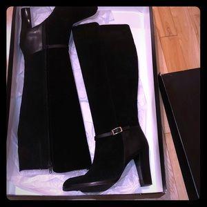NEW Banana republic dress boots black